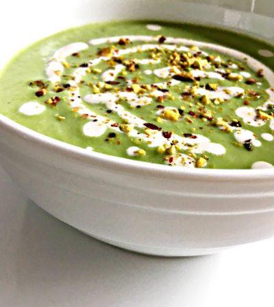 Kremasti potaž od brokolija i indijskog oraha