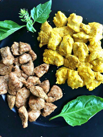 Indijska piletina na dva načina